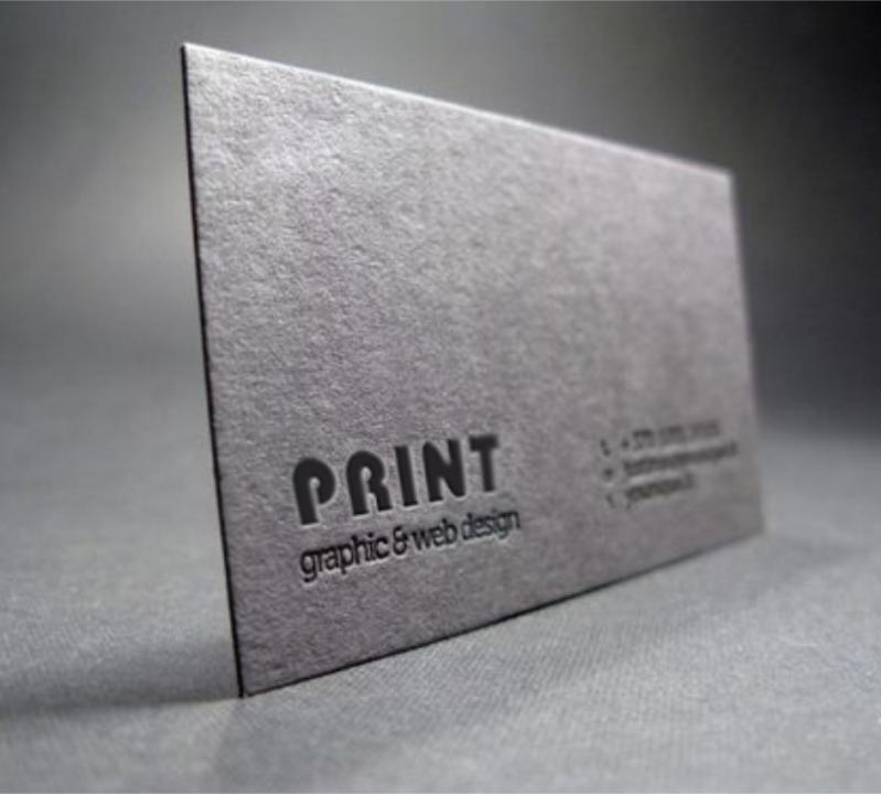 Cartão de Visita Impressão com Relevo Santa Teresinha de Piracicaba - Gráfica Impressão Cartão de Visita