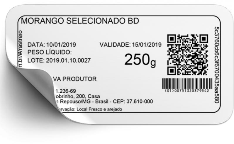 Onde Comprar Etiquetas com Código de Barras Parque dos Bancários - Etiquetas Código Barras