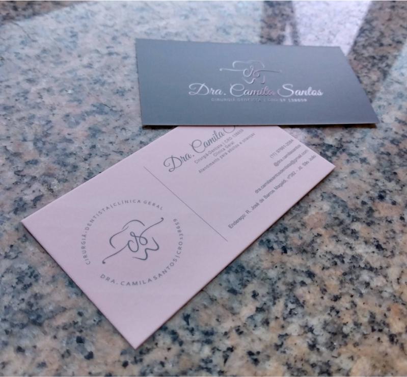 Qual o Preço de Impressão Cartão de Visita Verniz Localizado Campo Belo - Impressão Cartão Visita de Luxo
