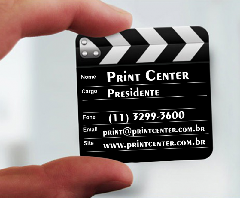 Qual o Preço de Impressão Cartão Visita Quadrado Paulínia - Cartão de Visita Impressão com Relevo