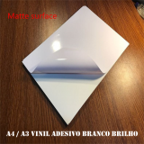 adesivo vinil branco Campo Grande