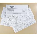 boleto personalizado e impressos preços Cosmópolis