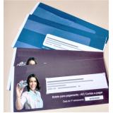 carnê de pagamento personalizado para empresas valor Paiol Grande