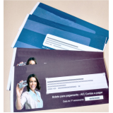 carnê de pagamento personalizado
