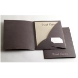 comprar pasta de papel personalizada Cidade Centenário