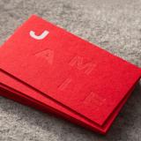 custo para cartão de visita impressão com relevo Cursino