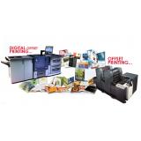 custo para impressão digital e offset Salesópolis