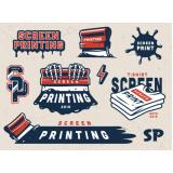 custo para serigrafia impressão offset Roosevelt (CBTU)
