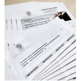 empresa que faz impressão de cartas de empresas Limeira