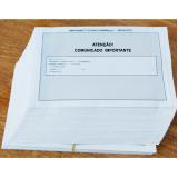 empresa que faz impressão de cartas Pirambóia