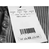 etiquetas de código de barras com numeração