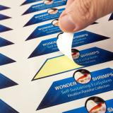 etiqueta de vinil adesiva preços Jundiaí