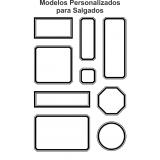 etiqueta para embalagem de salgados valores Pompéia