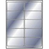 etiqueta metálica adesiva
