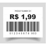 etiquetas código barras personalizada cotar Santo Amaro