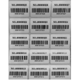 etiquetas com código de barras cotar Espírito Santo