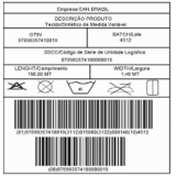etiquetas com código de barras para roupas Córrego Fundo