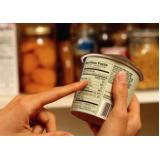etiqueta embalagem a vácuo