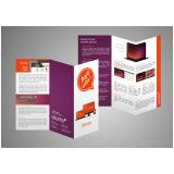 folder de produto novos cotar Vila Brasilina