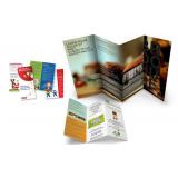 gráfica de folder produtos naturais Embu das Artes