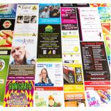 gráfica de impressão panfleto em offset Vila Brasilina