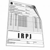 gráfica de informe de rendimentos Alto de Pinheiros