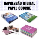 gráfica impressão papel couchê Vila Pirituba