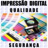 gráficas impressão digital Monte Alto