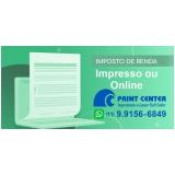 imposto de renda impressão Lauzane Paulista