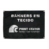 impressão banner em tecido preços Vila Mesquita