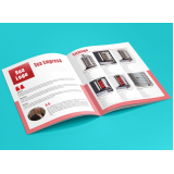 impressão catálogos preços Vila do Bosque