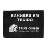 impressão de banner em tecido preços Vila Londrina