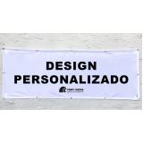 impressão banner em tecido