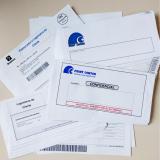 impressão de cartas