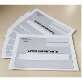 impressão para cartas