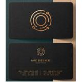 impressão cartão visita de luxo