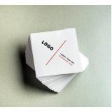 impressão cartão visita quadrado