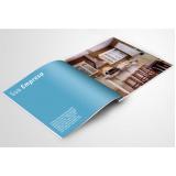 impressão de catálogos com encadernação Bairro do Limão