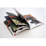 impressão de catálogos com revistas cotar Brooklin Novo