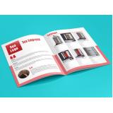 impressão de catálogos empresas preços Itabirito