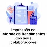 impressão de comprovante de rendimentos Rondônia