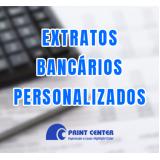impressão de extrato de bancos Mato Grosso do Sul