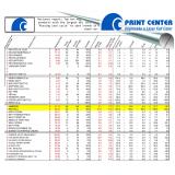 impressão de extrato vertical orçamento Campo Belo