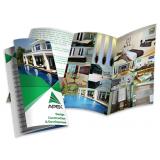 impressão de folder 1 dobra cotar Valinhos