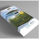 impressão de folder 2 dobras cotar Embu Guaçú