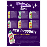 impressão de folder de produto de limpeza Jundiaí