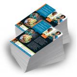 impressão de folder para vestibular Itaim Bibi