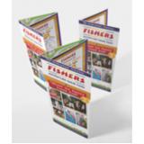 impressão de folder produtos naturais Engenheiro Goulart