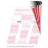 impressão de folha de resposta Mambaí