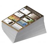 impressão de 1000 folhetos
